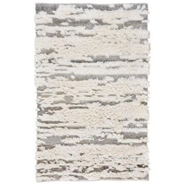 """Capel Nomad 630 Ivory and Gray 3'6"""" x 5'6"""" Area Rug"""