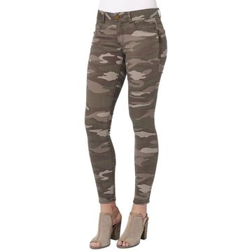 Democracy Women's Plus Ab-Solution Camo Side-Zip Jegging
