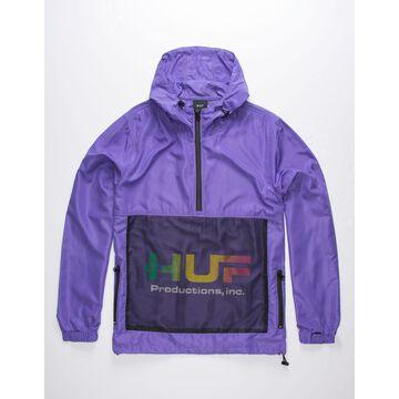 Productions Inc Ultra Violet Mens Anorak Jacket