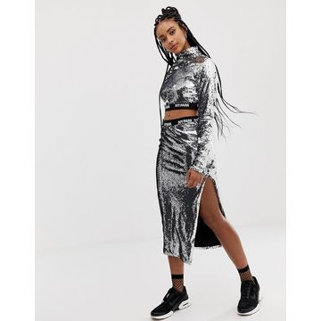 Ivy Park Sequin Pencil Skirt