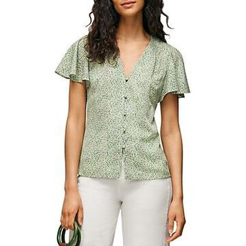 Whistles English Garden Print Top