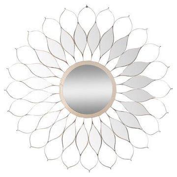 A&B Home Skyler Mirror, Bloom, 31.5-Inch