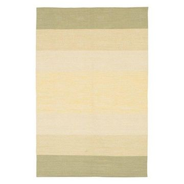 India Contemporary Area Rug, Taupe and Beige, 7'9