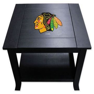 NHL Chicago Blackhawks Side Table