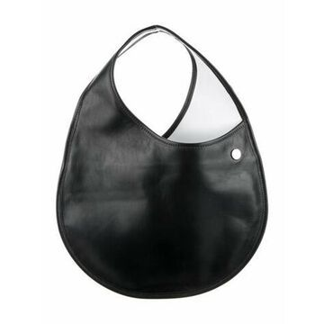 Leather Handle Bag Black