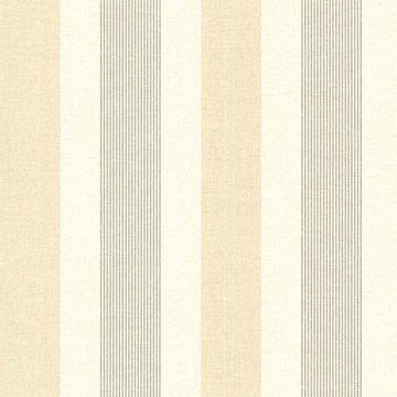 Brewster Stripe Wheat Jace Wallpaper