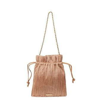 Loeffler Randall Sibyl Pleated Pouch with Chain Strap Handbags