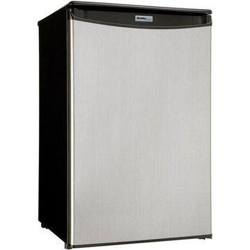 Danby Designer 4.4 cu ft Compact All Refrigerator, Spotless Silver