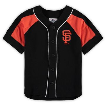 San Francisco Giants Preschool Fashion Outta the Dugout Jersey - Black