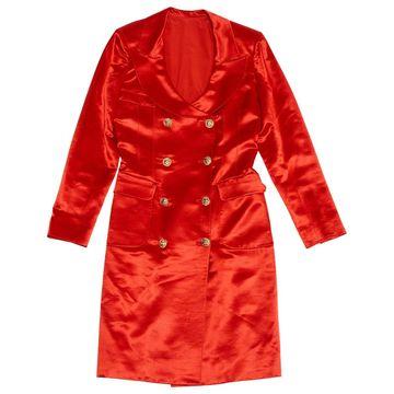 Emanuel Ungaro Red Silk Coats
