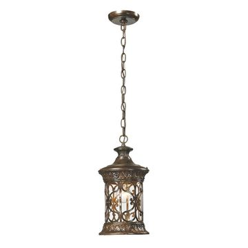 Westmore Lighting Cosette Hazelnut Bronze Single Transitional Pendant Light