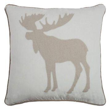 Rizzy Home Moose Throw Pillow