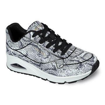Skechers Street Uno Viper Queen Women's Sneakers, Size: 7.5, White