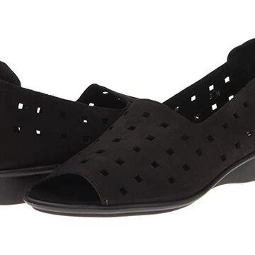 Sesto Meucci Evonne (Black) Women's Sandals