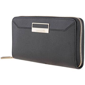 MontBlanc Sartorial Long 8cc Black Leather Ladies Wallet 114599