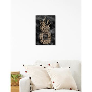 Oliver Gal 'Coco Tropical Night' Fashion and Glam Wall Art Canvas Print - Gold, Black