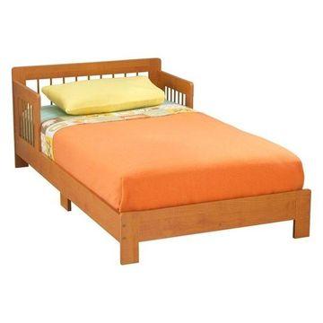 KidKraft Houston Toddler Bed, Honey