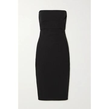 Rick Owens - Strapless Cotton-blend Crepe Dress - Black