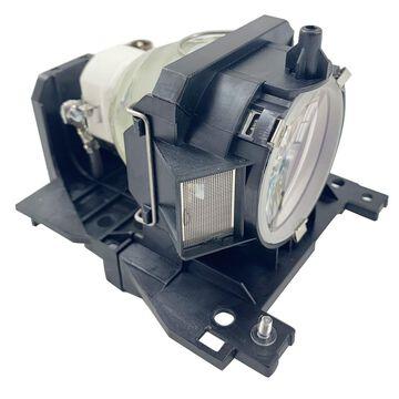 Hitachi CP-X401 Projector Housing with Genuine Original OEM Bulb