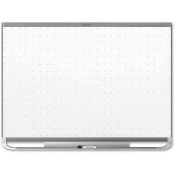 Quartet, QRTTEM543G, Prestige 2 Grpht Frame Magnetic Whiteboard, 1 Each