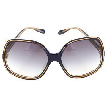 Oliver Peoples Blue Plastic Sunglasses