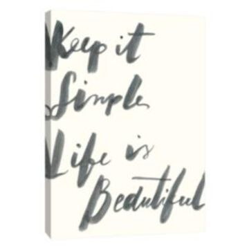 Ptm Images, Blue Keep It Simple Decorative Canvas Wall Art