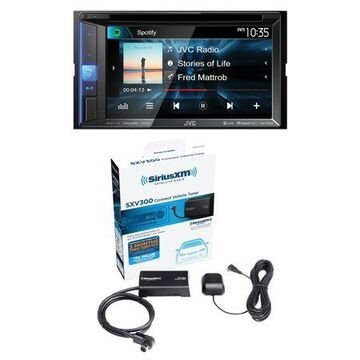 JVC Mobile KW-V250BT 6.2 Double-DIN In-Dash DVD Receiver with Bluetooth
