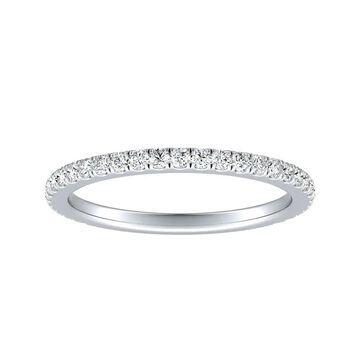 Auriya 14k Gold 1/3ctw Diamond Wedding Band