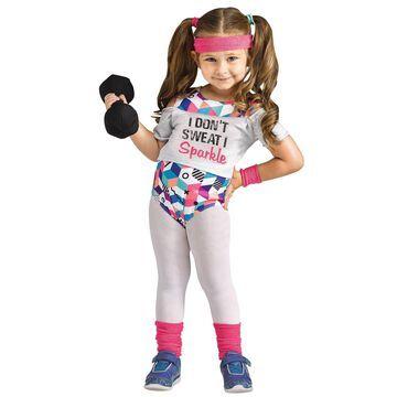 Fun World Li'l Miss Fit Toddler Costume-X-Large