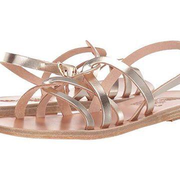 Ancient Greek Sandals Schinousa (Platinum) Women's Shoes