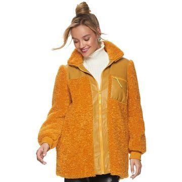 Women's Apt. 9 + Cara Santana Sherpa Jacket