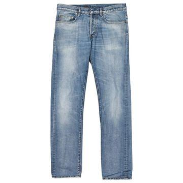 Dior Blue Cotton Jeans