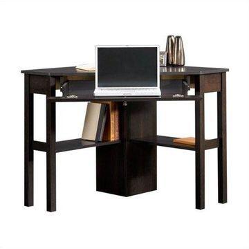 Sauder Beginnings Corner Computer Desk, Cinnamon Cherry