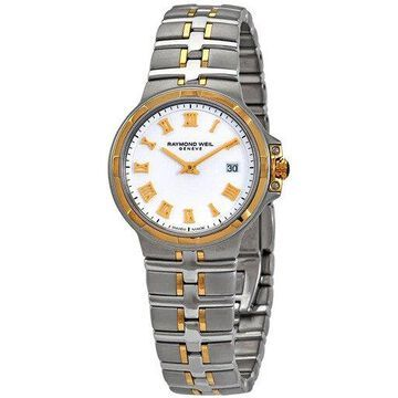 Raymond Weil Parsifal White Dial Ladies Watch 5180-STP-00308