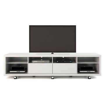Manhattan Comfort Cabrini Tv Stand 2.2, White Gloss