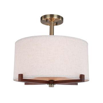 Woodbridge Lighting Brendan Semi-Flush LED Light