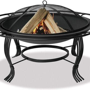 Uniflame Endless Summer WAD1050SP 34.6 in.Diameter Black Firepit with Outer Ring