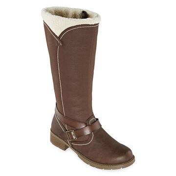 Totes Womens Flora Waterproof Insulated Winter Boots