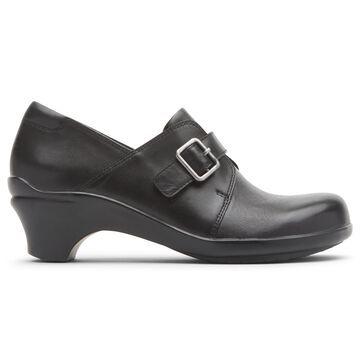 Aravon Womens Stridarc Monk Slip-On Shoes - Size 8.5 D Black