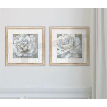 Wexford Home 'Bombshell Bloom I' Framed Prints (Set of 2)