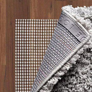 Unique Loom Anti-Slip Rug Pad, Beig/Green, 8FT OCT