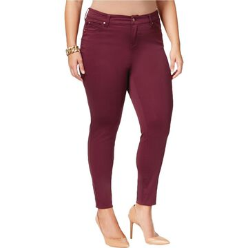 Celebrity Pink Womens Plus Stretch Slimming Colored Skinny Jeans