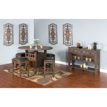 Sunny Designs Homestead Counter Height Wood Table