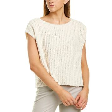Eileen Fisher Bateau-Neck Top