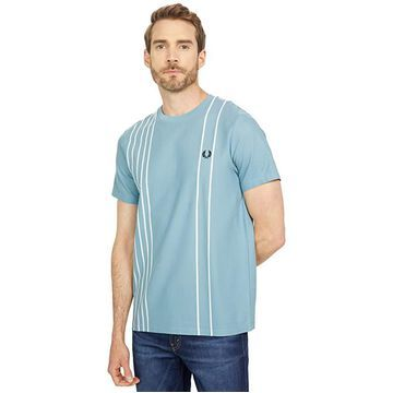 Fred Perry Refined Cotton Striped T-Shirt