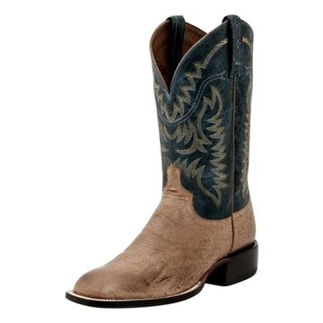 Lucchese Western Boots Mens Color Top Ostrich M2671