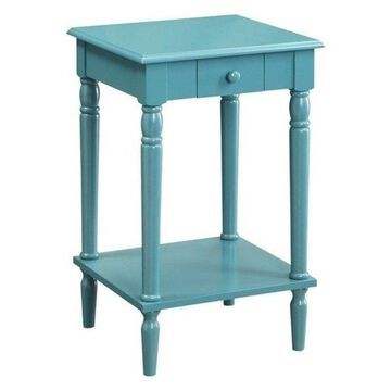 Pemberly Row End Table, Blue