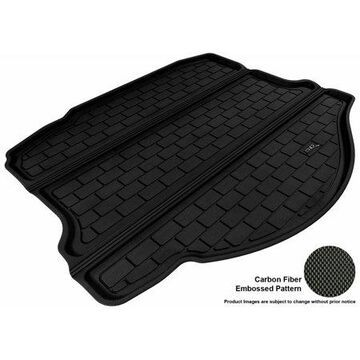 3D MAXpider 2010-2015 Chevrolet Camaro All Weather Cargo Liner in Black with Carbon Fiber Look