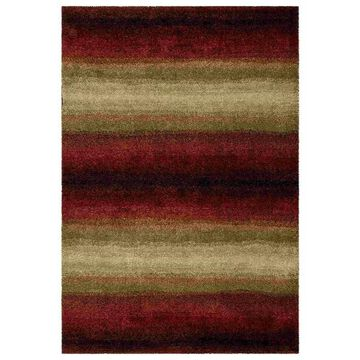 Orian Rugs 1623 Wild Weave Skyline Lava Area Rug, Red, 9'x13'