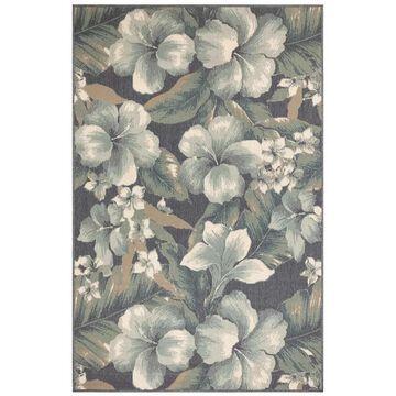 Liora Manne RivieraTropical Flower Botanical Outdoor Rug